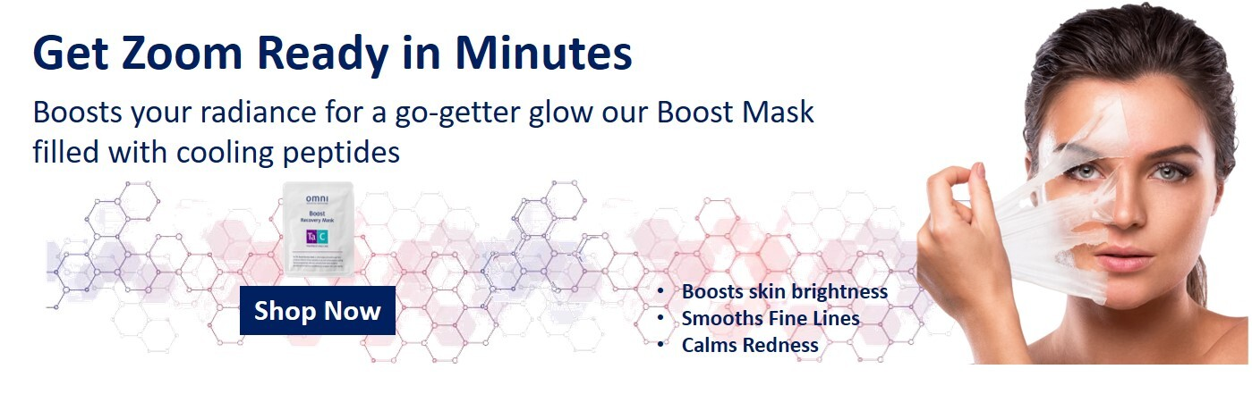 medical grade skin care, boost mask, skin care, zoom video, rebuild, calm redness, plumps tired skin, smooth fine lines, boosts skin brightness, dull to dewy
