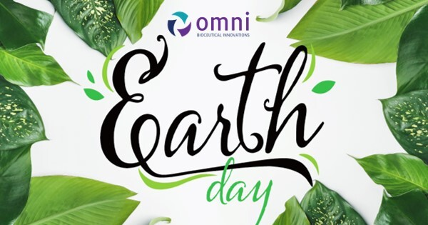 earth day, omni bioceutical innovations, peptides, amino acids, biome boosting facial cleanser, medical grade