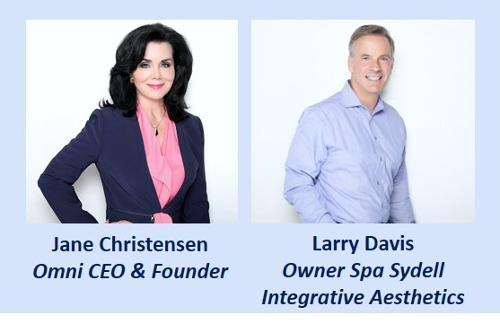 jane christensen, larry davis,, omni CEO, Spa Sydell owner