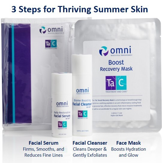 omni cleanser, facial serum, boost recovery mask, #loveomniskin