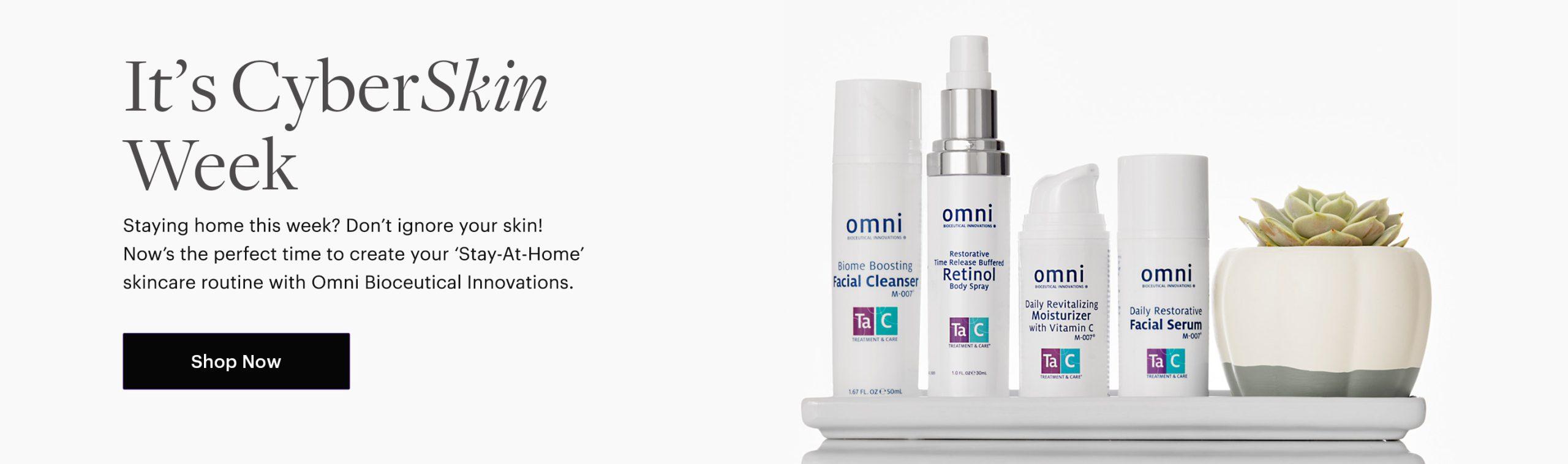 biome cleanser, retinol, vitamin c moisturizer, facial serum, m-007