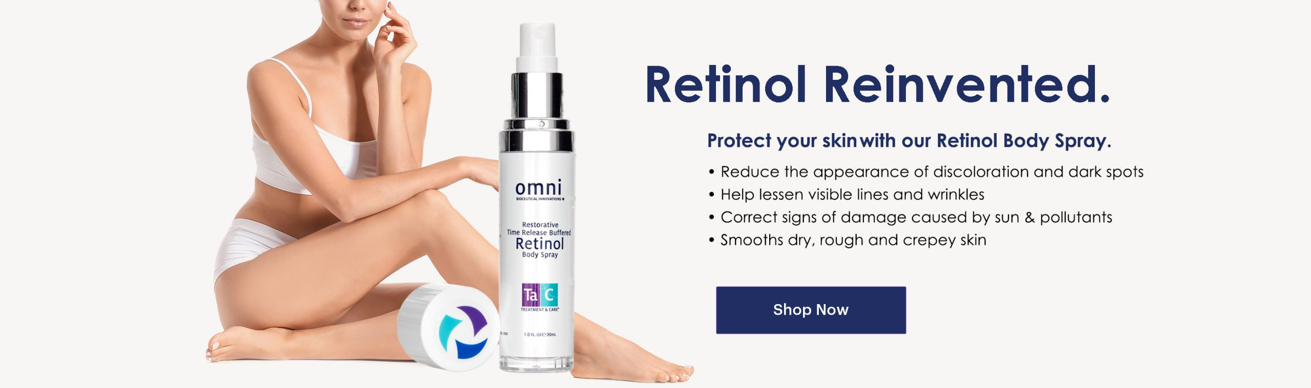 Retinol Body Spray