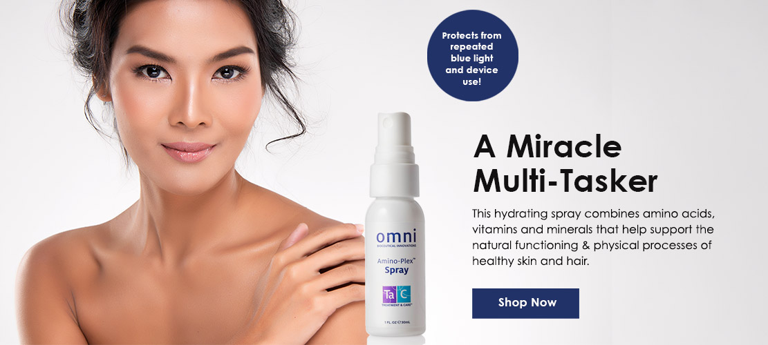 Medical-grade skincare Amino plex spray for youthful skin